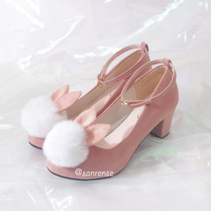 Cute Bunny High Heels Shoes SE21057