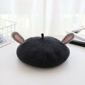 Cute Cat Antler Beret SE21148