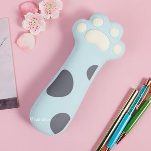 Cute Cat Claw Silica Pencil Case SE21108
