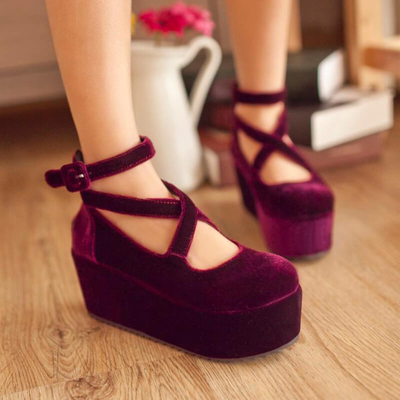 Cute Lolita Platform Shoes SE20814