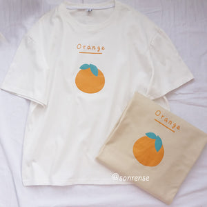 Cute Orange T-shirt SE21069