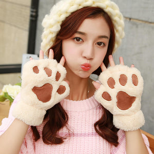 Cute Cartoon Cat Paw Gloves SE8743