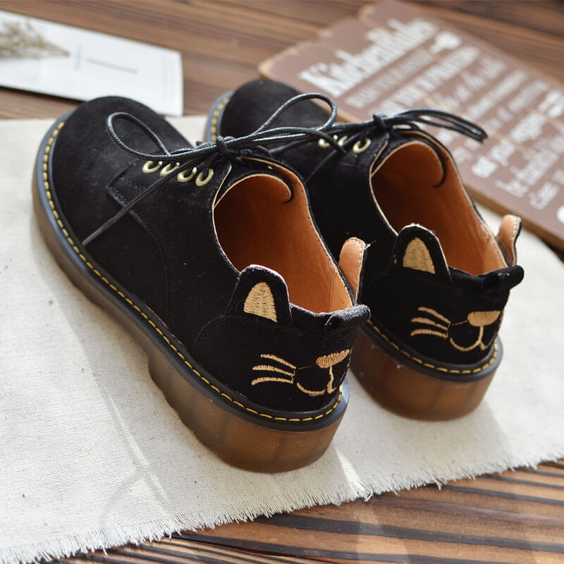 Cute Cat Flats Shoes SE20717