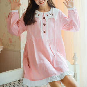 Cute Pastel Cat Dresses SE20350