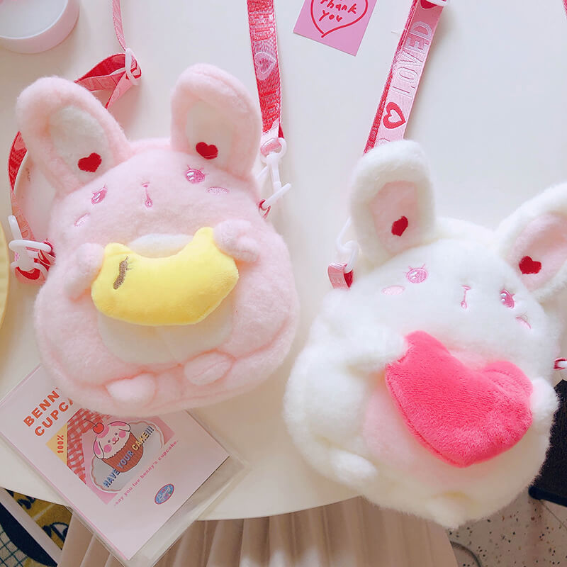 Cute Plush Love Rabbit Bag SE20788