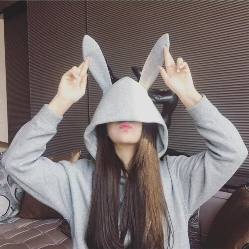 Cute Rabbit Ear Hoodie SE20265