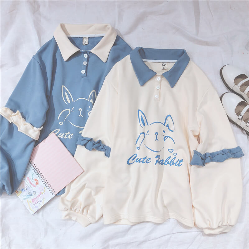 Cute Rabbit Sweatshirt SE20488