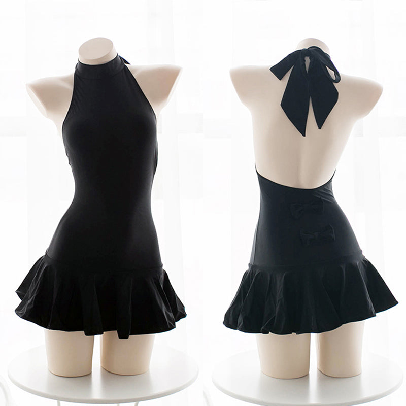 Cute Sexy Bow Swimsuit Dress SE20313