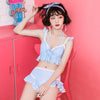 Cute Sweet Ruffled Swimsuit SE20307