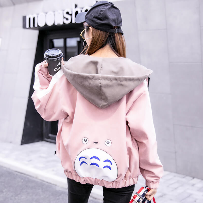 Cute Totoro Baseball Jacket SE20494