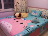 Cute totoro students bed sheet set SE6971
