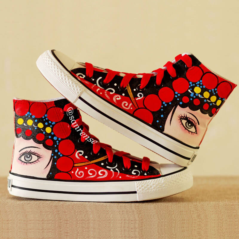 Drama Huadan Hand-painted Shoes SE21132