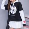 Cute Girl Cartoon Printing Hoodie SE11199