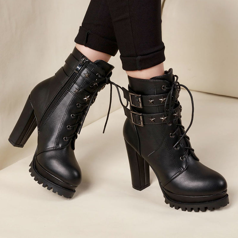 Fashion Star High Heel Boots SE20255