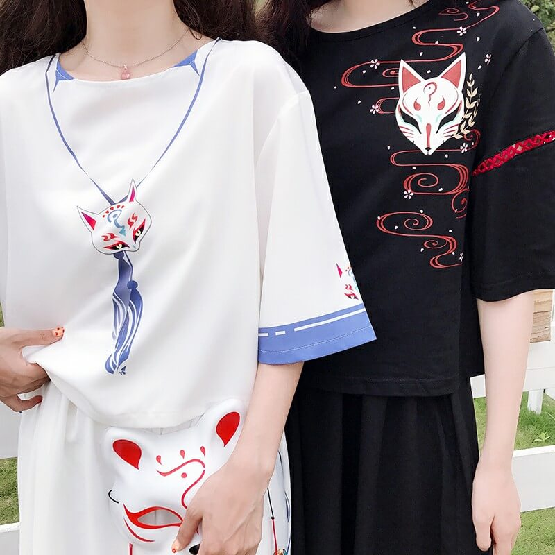 Fox T-shirt Skirt Suit SE20778