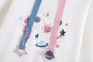 Galaxy Space Planet Sun Hoodie SE20896