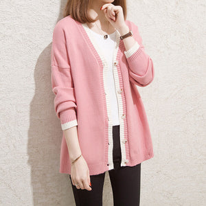 Garland Cat Cardigan Sweater SE21110