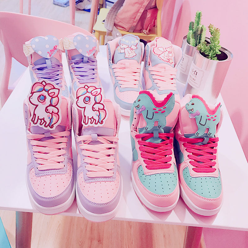 Cute Gemini Love Pony Shoes Sneakers SE2795