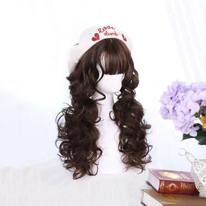 Golden Lolita Cosplay Wig SE21240