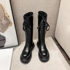 Gothic Lace-up Boots SE21196