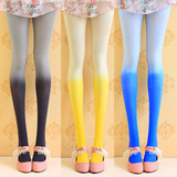 Cute sweet gradient color pantyhose SE4896