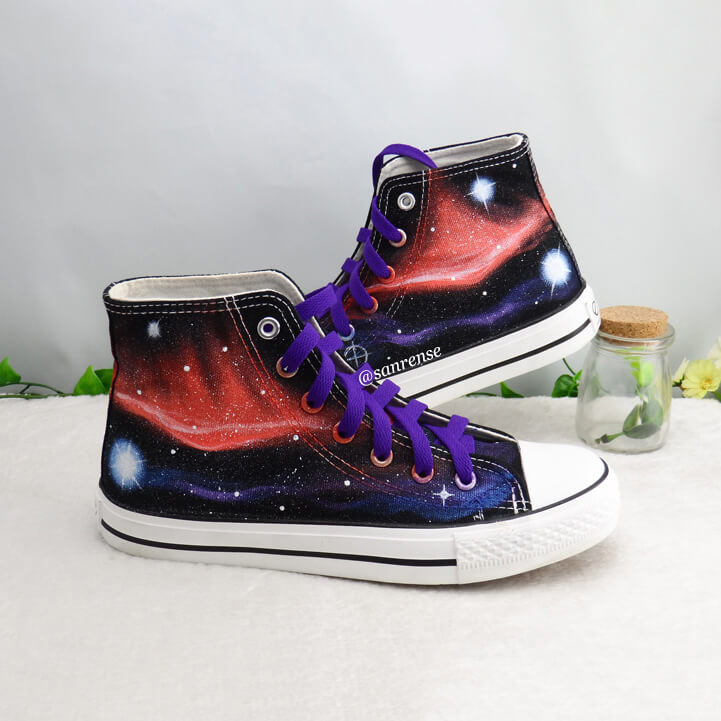Harajuku Galaxy Hand-painted Shoes SE21127