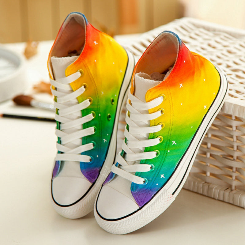 Harajuku Star Rainbow Shoes SE20259