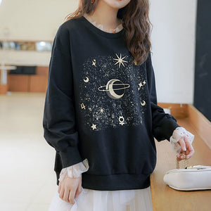 Harajuku Star Space Lace Sweatshirt SE20671