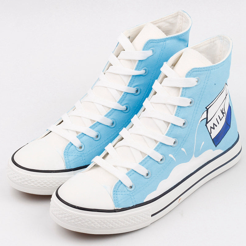 Light Blue Milk Canvas Shoes SE9189