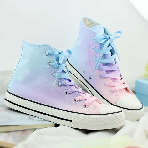 Gradient Canvas Shoes SE7652