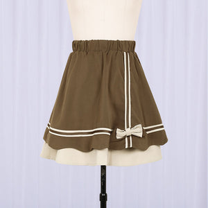 JK Japanese Bow Student Top Skirt Set SE20364