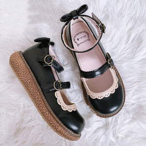 JK Lolita Bow Shoes SE21274