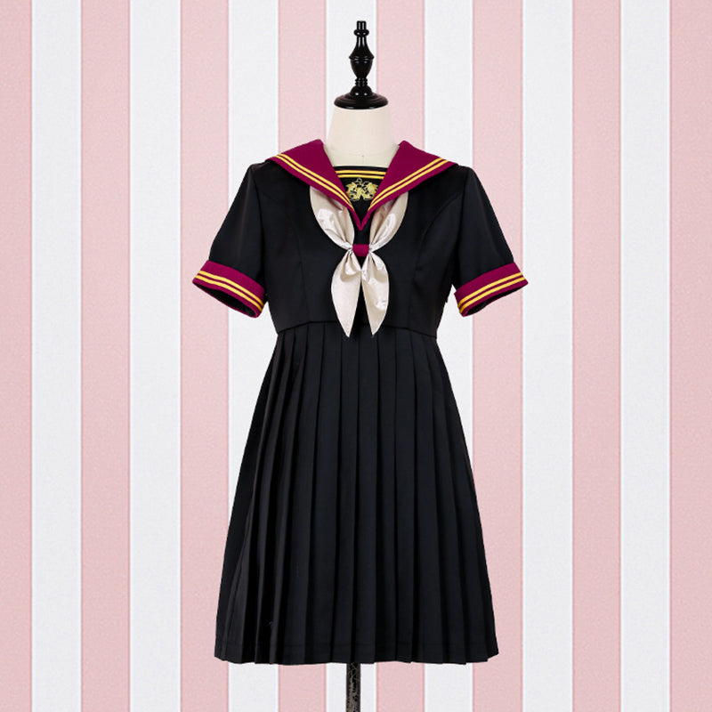JK Bell Sailor Pleated Dress SE20195