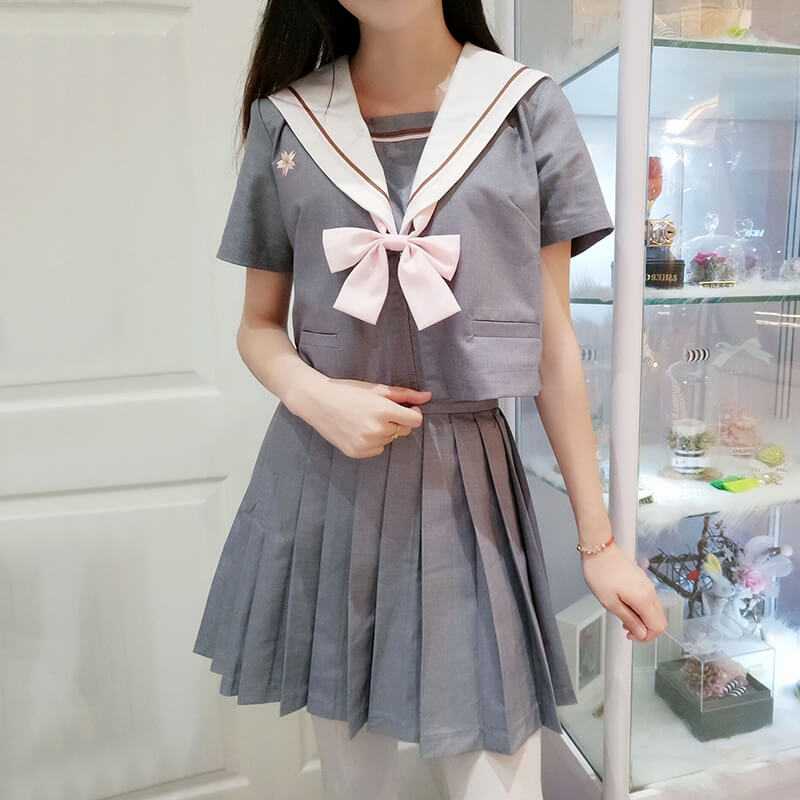 JK Sakura Student Sailor Suit SE20749
