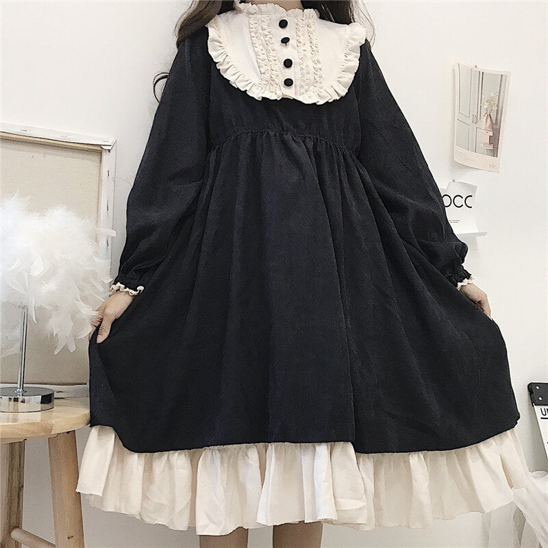 Sweet Lolita Ruffled Dress SE21560