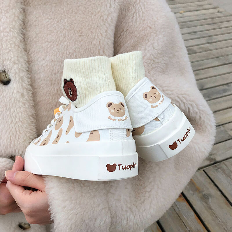Japanese Biscuit Canvas Shoes SE21379