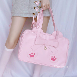 Japanese Bow Cat Paw Bag SE21061