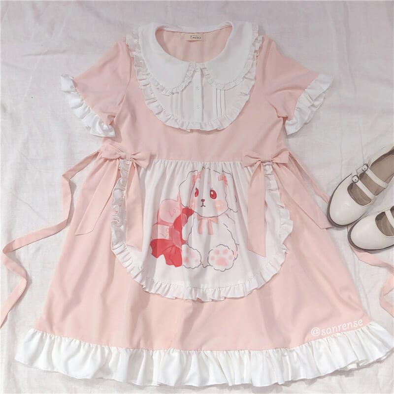 Japanese Bow Rabbit Dress SE21117
