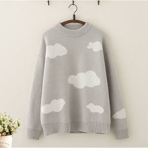 Japanese Cloud Pullover Sweater SE21224