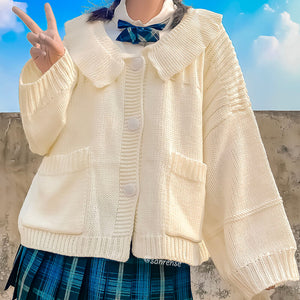 Japanese Knitted Cardigan Sweater SE21107