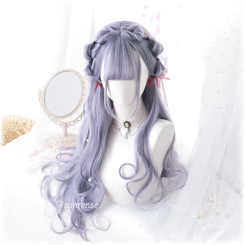 Japanese Purple Long Curly Hair SE20987