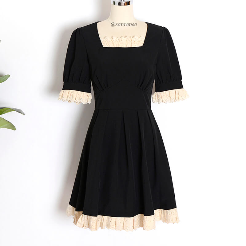 Japanese Retro Lace Dress SE21142