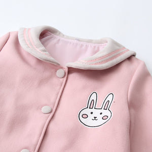Japanese Sailor Rabbit Woolen Coat SE21266