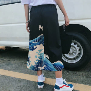 Japanese Wave Hip-hop Wide Leg Trousers SE20684