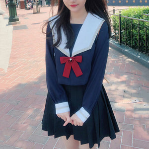 Japanese JK Bow Sailor Suit SE20805