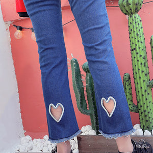 Japanese Love Embroidery Jeans SE20657