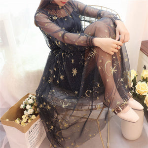 Japanese Moon Galaxy Dress SE20713