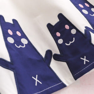 Japanese Navy Cat Dress SE20407