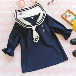 Japanese Navy Sailor Shirt SE20477
