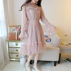 Japanese Star Mesh Dresses SE20214